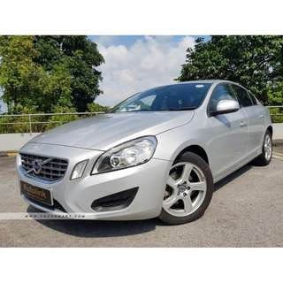 Powerful 2013 Volvo S60 Diesel For Lease