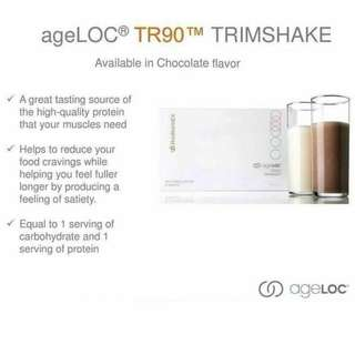 nuskin ageloc Tr90 trim shake both for lose weight and gain weight