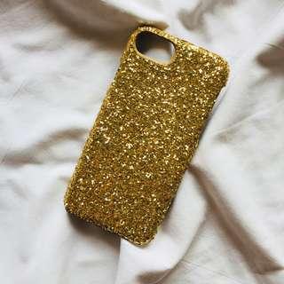 Iphone 7 Glittered Case