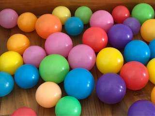 Colorful Soft Plastic Balls Ball Pit 50 pcs 7cm