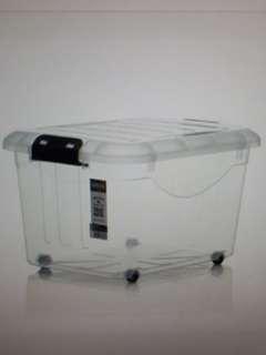Houze storage box with wheels 60L