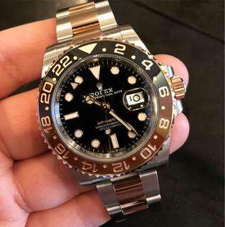 Rolex GMT Master 2 Rootbeer