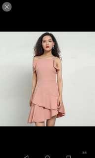 Inc pos premium ruffles dress