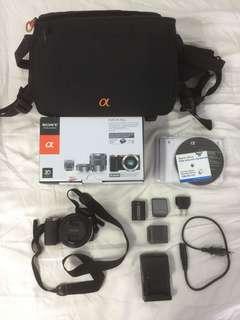 Sony Alpha NEX 5N Mirrorless Digital Camera with Sony E 18-55mm Lens