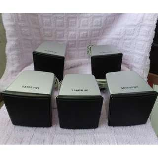 Used working condition Samsung 5.1 Home Theater speaker system.