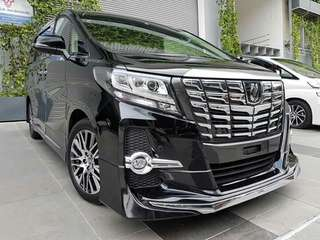 Toyota Alphard 2.5 Sc ( fully loaded ) 🤩