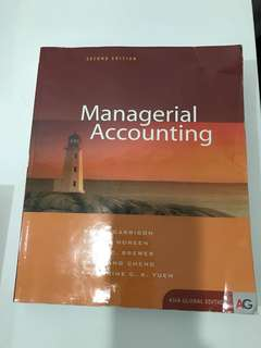 Managerial Accounting Textbook (2nd edition)