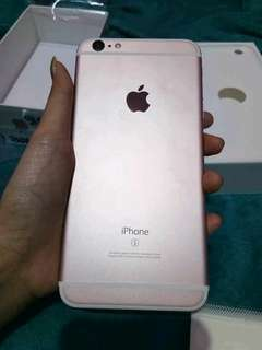 Iphone6s warna rose gold original 16gn