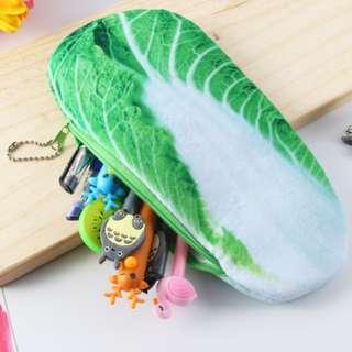3D Large Capacity Vegetable Design Stationary Storage Bag Pencil Case