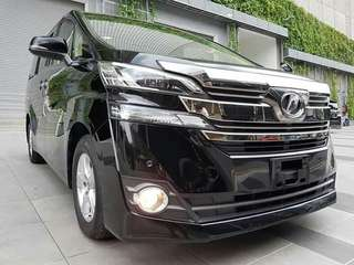 Toyota Vellfire 2.5 ( new model )