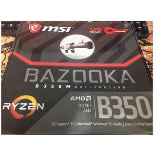 MSI B350 (B350M) Bazooka AM4 Motherboard