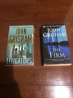 John Grisham Titles (Set of 2)