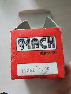 Yamaha 125z piston and ring