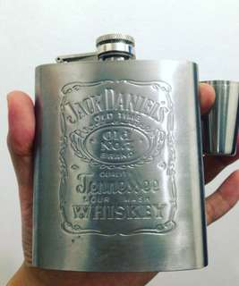 Stainless Whisky Alcohol Flask
