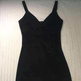 Miss Selfridge Little Black Party Dress
