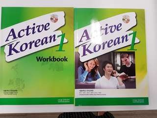 Active Korean 1 with Workbook (language education institute Seoul National University)