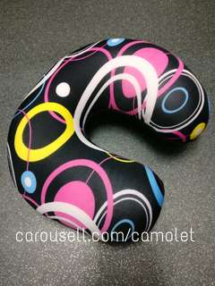 Neck Pillow / Bantal Leher