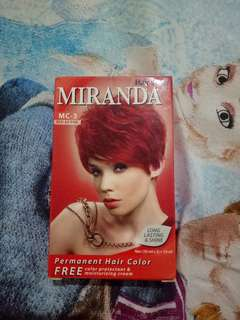 MIRANDA PERMANEN HAIR COLOUR