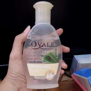 Ovale Facial Lotion Whitening Aloe Vera
