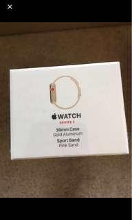 Apple Watch 38mm cellular Pink