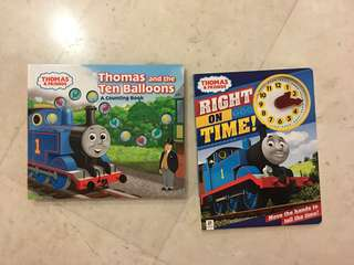 Thomas Train hard cover books