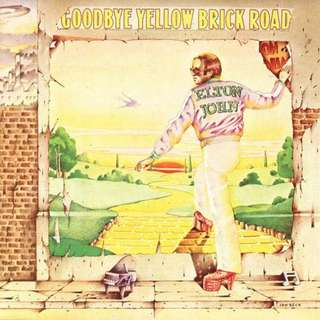 ELTON JOHN - Goodbye Yellow Brick Road Vinyl Record LP