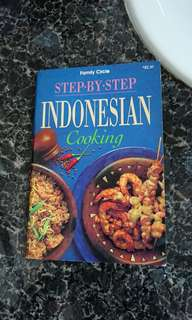 Indonesian Cooking, Step by Step Cooking book
