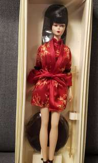 Silkstone Barbie Chinoiserie Red Moon year 2004