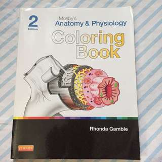 Mosby's Anatomy & Physiology Coloring Book