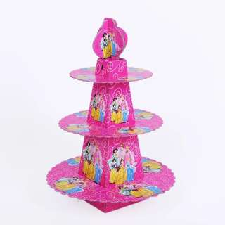 💕 Princess party supplies - cupcake stand / dessert stand/ candy bar deco / party deco