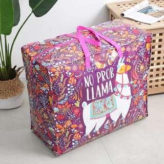 北歐風學生 搬屋 旅行環保袋 袋超結實被子防塵袋收納袋107升