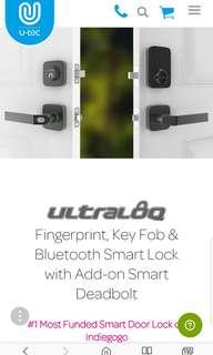 Ultraloq 3-in-1 Fingerprint Smart Lock