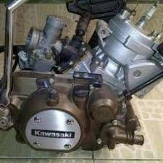 Mesin motor Kawasaki