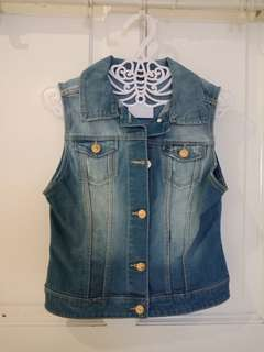 Zara kids denim vest