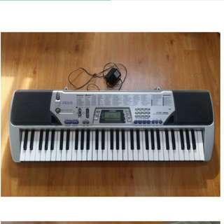 卡西歐 Casio 二手 鋼琴電子琴 ctk-491