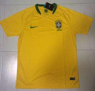 World Cup 2018 Brazil Jersey (Home Yellow)