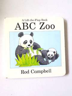 ABC Zoo - Lift the Flap book