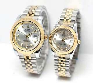 Jam tangan rolek couple
