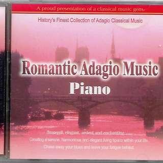 Classic Music CD Romantic Adagio Music Piano