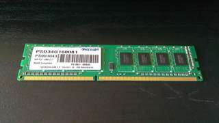 Patriot 4gb ddr3