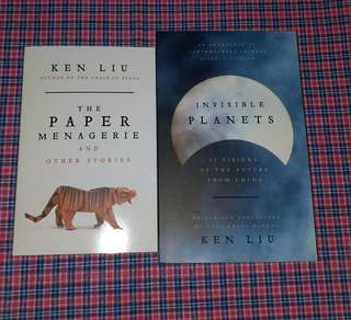 Ken Liu - The Paper Menagerie and The Invisible Planets