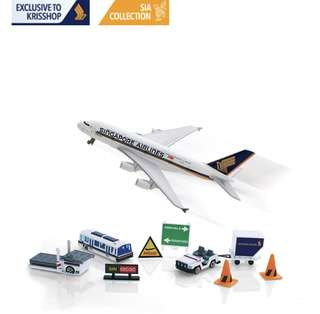 Singapore airlines A380 airport play set