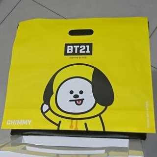 BT21禮品袋