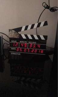 Directors cut clock