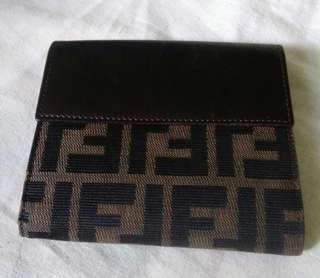 Fendi Zucca Wallet ( AUTHENTIC )