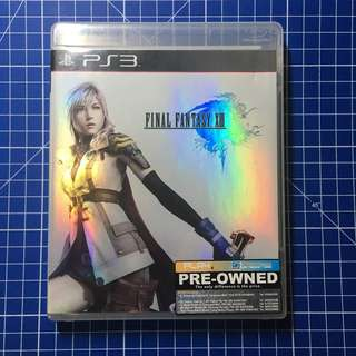 PS3 Final Fantasy XIII (FF 13)