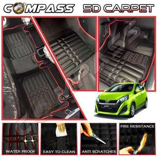 5D Car Carpet