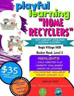 Playful Learning: Home Recyclers