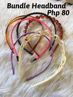 Bundle Hair Band