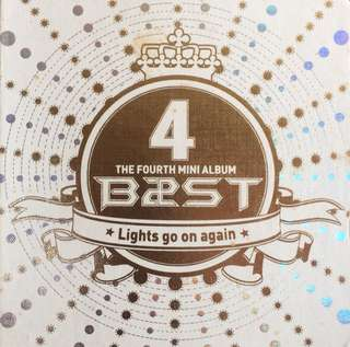 BEAST/HIGHLIGHT 4th MINI ALBUM - LIGHTS GO ON AGAIN